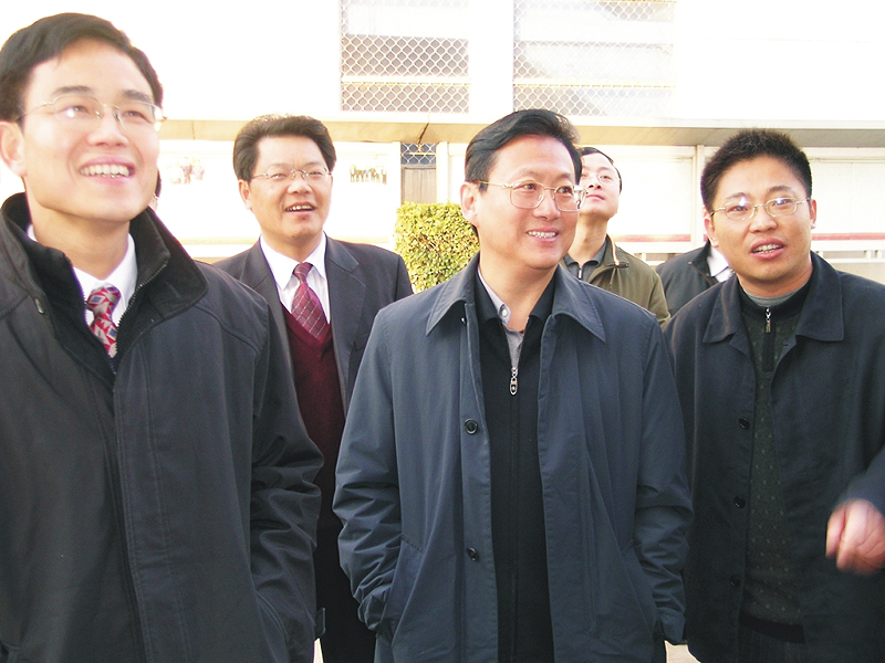 Yang Song, Deputy Secretary of Hubei Provincial Party Committee, inspected Guangji Pharmaceutical Industry
