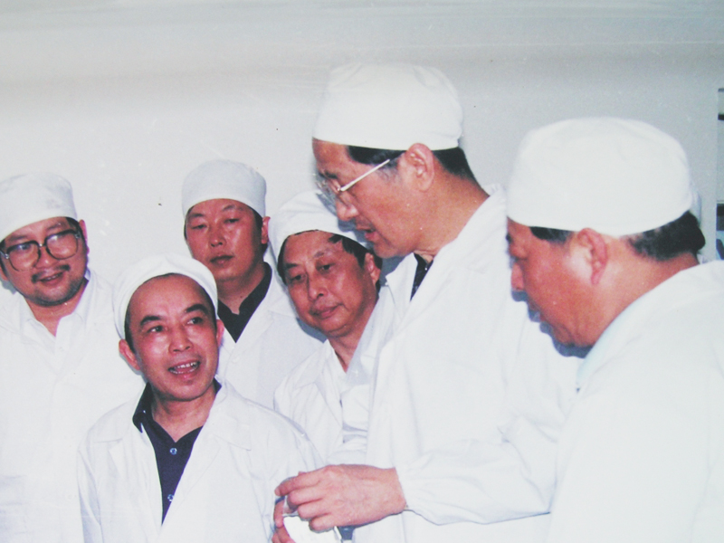 Yang Yongliang, former deputy secretary of Hubei Provincial Party Committee, inspected Guangji Pharmaceutical Industry